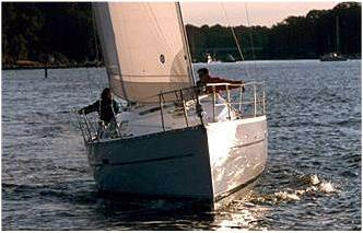 One of Captain Rik's deliveries of the terrific entry level family cruiser the Beneteau 323.