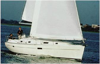 Captain Rik's very familiar with Beneteau such as the comfortable costal cruiser the Beneteau 361.