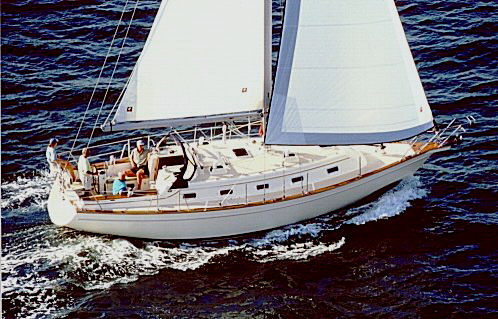 Captain Rik has handled many high-end vessels including this 38 foot Island Packet.